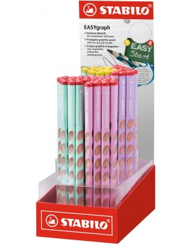 STABILO EASYgraph LEFT and RIGHT  PASTEL