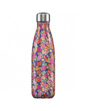 Μπουκάλι Θερμός Chilly's Floral Edition Wild Rose 500ml
